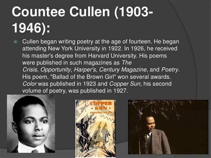 I want to write an English essay on poetry during the Harlem Renaissance. Any suggestions for topics?