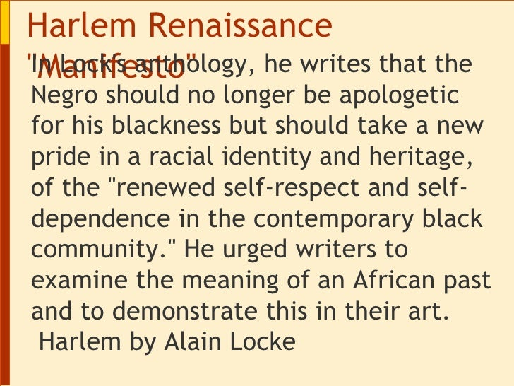 an introduction to the history of the harlem renaissance (0:05) so the harlem renaissance was an early 20th century movement in  which  (intro) (0:42) ok, so one journalist described the harlem.