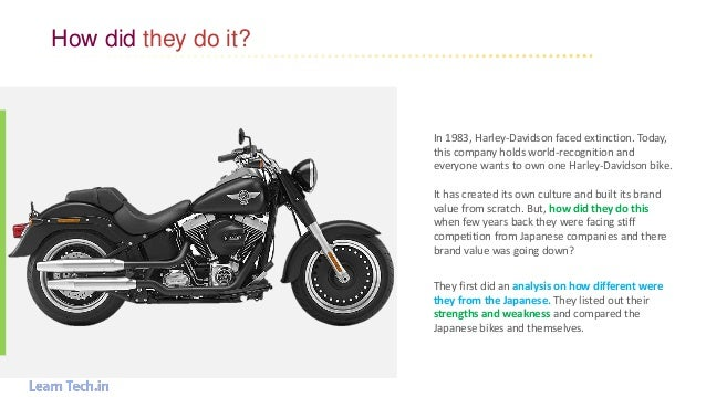 harley davidson case analysis Harley-davidson strategic analysis this case study harley-davidson strategic analysis and other 63,000+ term papers, college essay examples and free essays are.