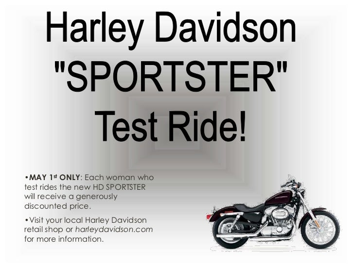 Harley-Davidson Coupon Codes. When riding your Harley-Davidson motorcycle be sure to ride safely, respectfully and within the limits of the law and your abilities. Always wear a helmet, proper eyewear and protective clothing and insist your passenger does too. Never .