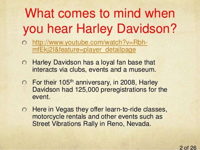 harley davidson case study