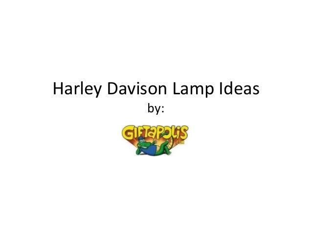 Harley Davidson Lamp Ideas