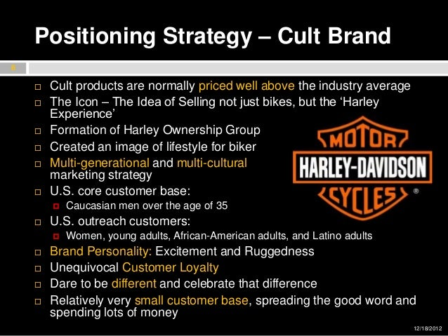 harley davidson marketing strategy The investor relations website contains information about harley-davidson usa's business for stockholders,  accelerated strategy more roads to harley-davidson plan.