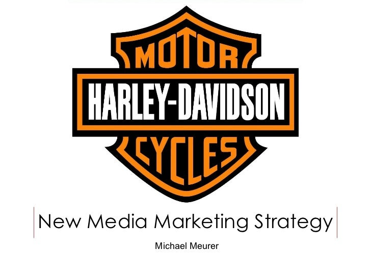 New Media Marketing Strategy Michael Meurer