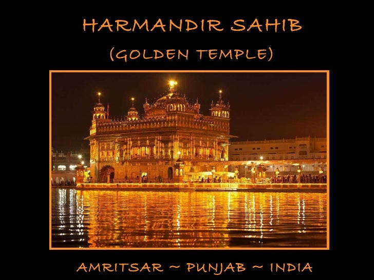 HARMANDIR SAHIB (GOLDEN TEMPLE) AMRITSAR ~ PUNJAB ~ INDIA