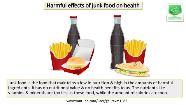 essays on harmful effects of junk food