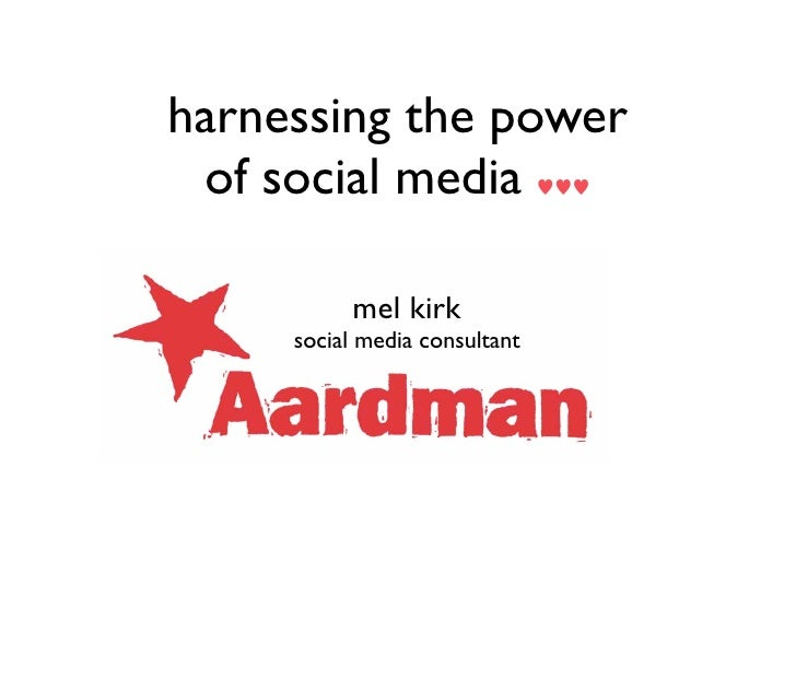The Power of Harnessing Social Media