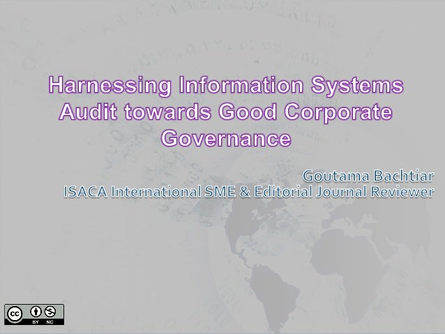 Harnessing Information Systems Audit towards Good Corporate Governance