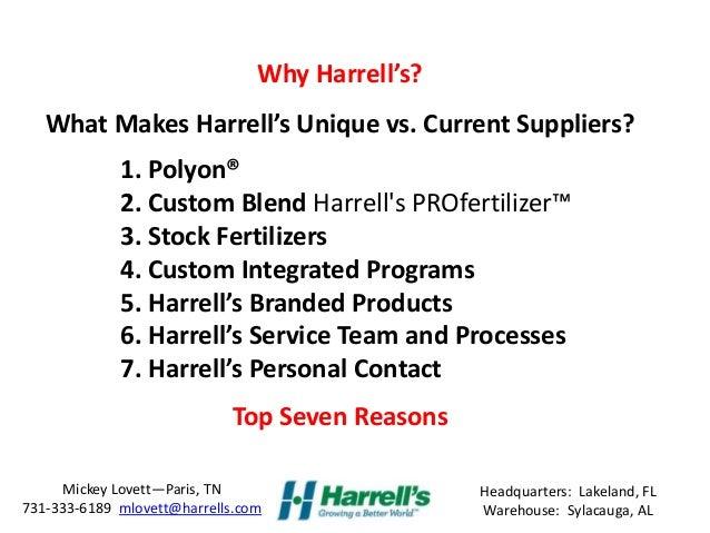 What Makes Harrell's Turf & Landscape Division Unique?