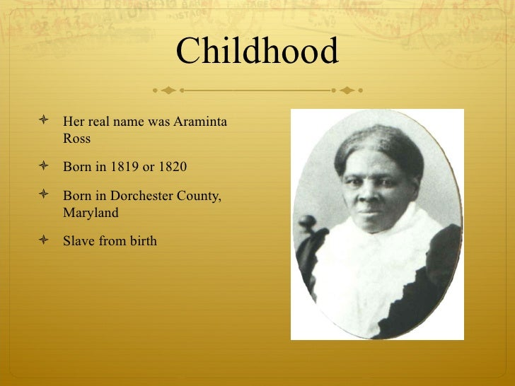 the life of a slave araminta Harriet tubman was an african-american abolitionist and civil rights activist she also served as a union spy during the civil war tubman was born 'araminta ross' into a life of slavery on january 29, 1820.