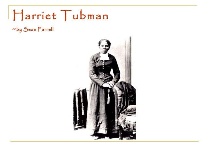 Harriet Tubman - by Sean Farrell