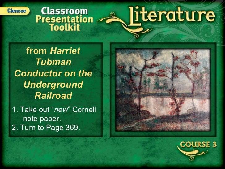 Harriet Tubman Day One