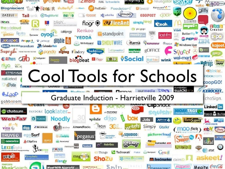 Cool Tools for Schools    Graduate Induction - Harrietville 2009