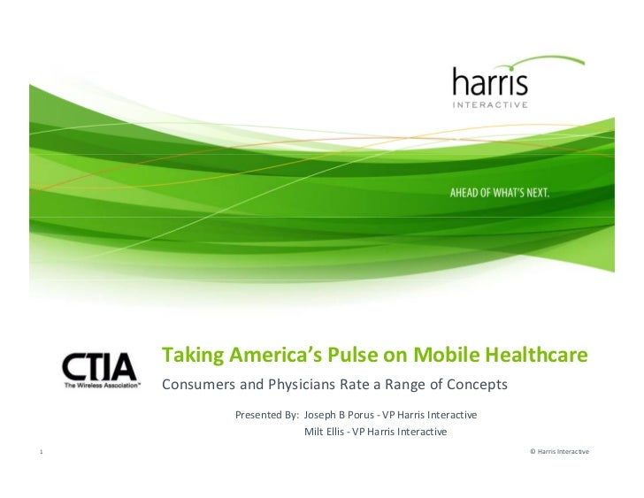 Harris interactive   ctia mobile health presentation
