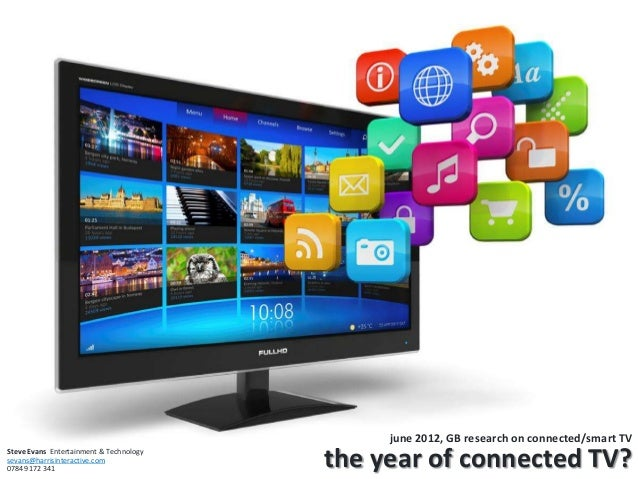 june 2012, GB research on connected/smart TV the year of connected TV?Steve Evans Entertainment & Technology sevans@harris...