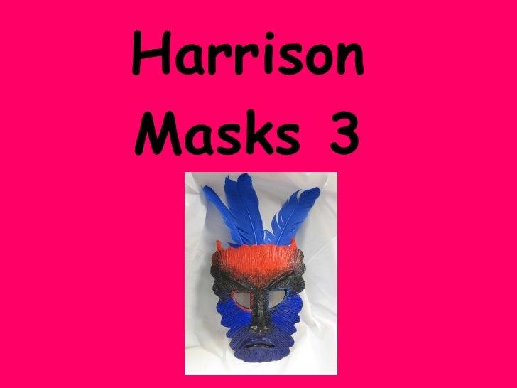 Harrison Middle Masks 3 Slideshare