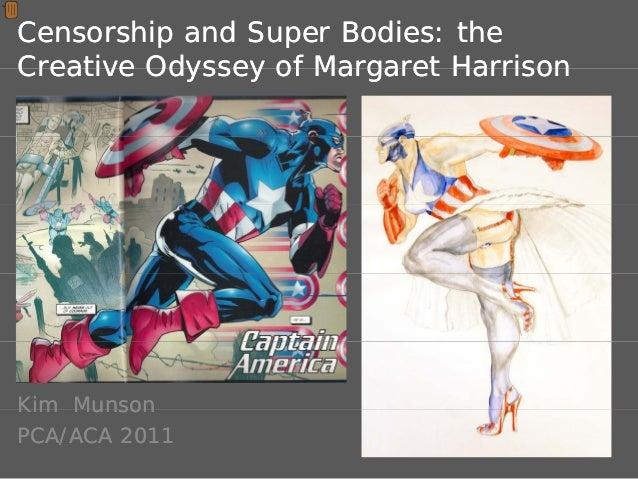 Censorship & Superbodies: The Creative Odyssey of Margaret Harrison
