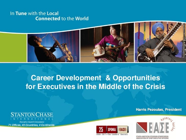 Career Development & Opportunities              for Executives in the Middle of the Crisis                                ...