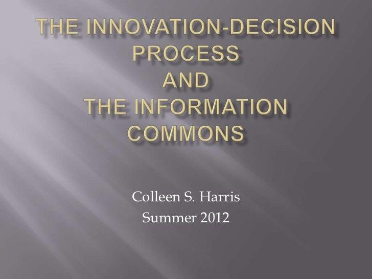 Colleen S. Harris Summer 2012