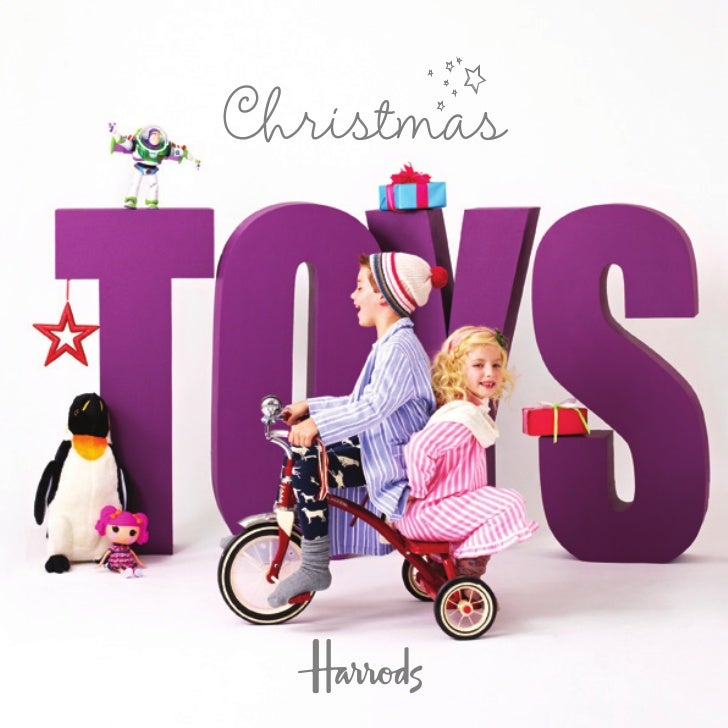 Harrods Toys for Boys