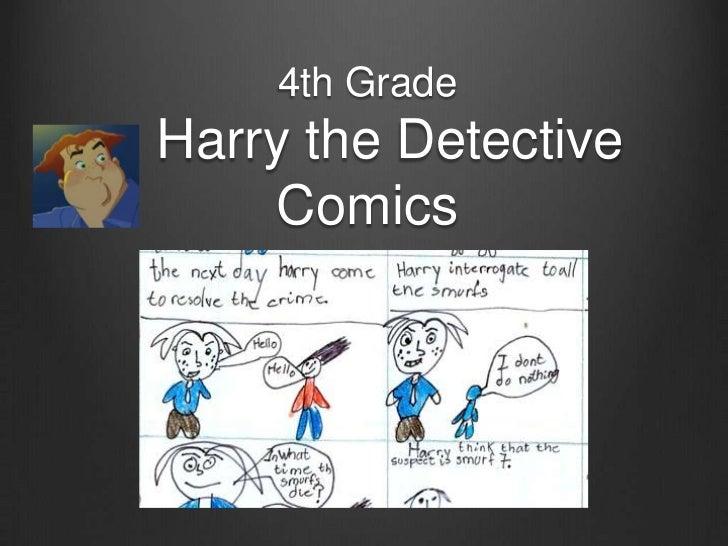 Harry the Detective Comics