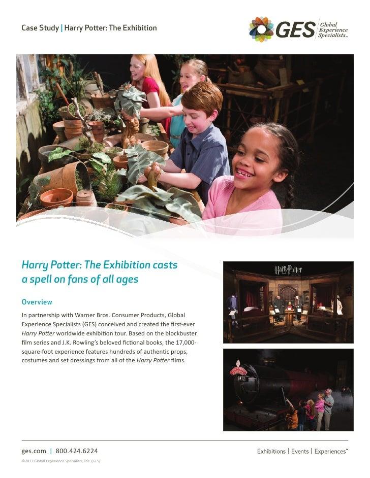 Harry Potter the Exhibition Case Study - GES