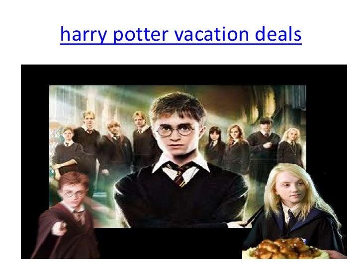 harry potter vacation deals