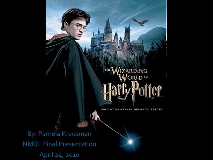 the Wizardly World of Harry Potter presentation