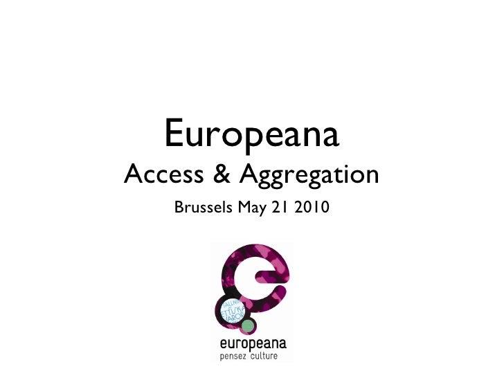 Harry Verwayen, Europeana