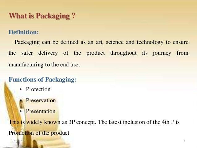 functions of packaging essay