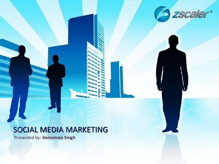 Social Media Marketing - Facebook, Twitter, LinkedIn