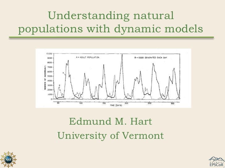 Understanding naturalpopulations with dynamic models        Edmund M. Hart      University of Vermont