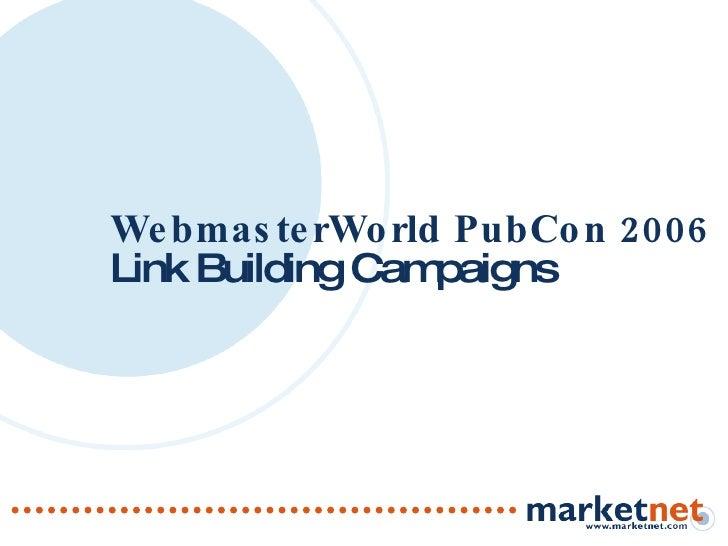 Link Building Campaigns