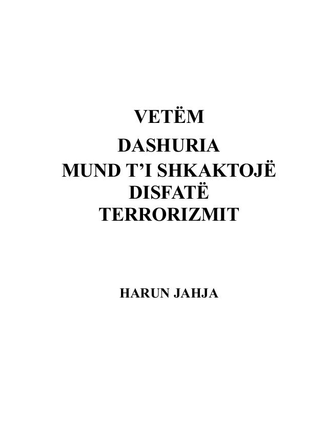 Harun yahya   vetëm dashuria mund ti bëjë disfat terrorizmit