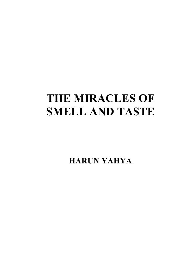 Harun Yahya Islam   The Miracle Of Smell And Taste
