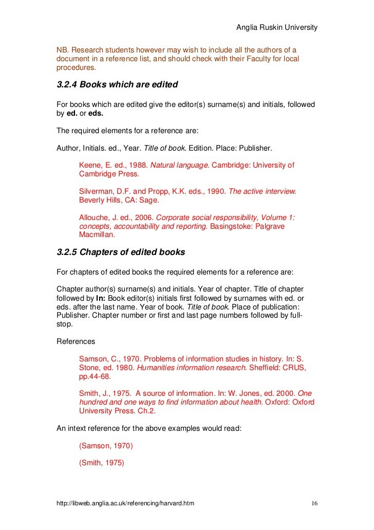 harvard referencing case study no author No obvious author 7  this guide introduces you to the harvard referencing style, which uses an 'author-date' approach  51 citing one author a recent study .