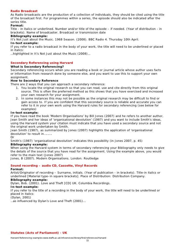Example university essays
