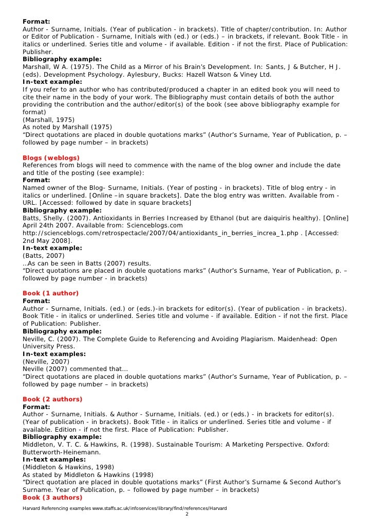 harvard reference essay If you're a student and have ever had to write reports, essays or theses, you will have had to reference what you have used in your report if you mention something that someone else has written, you need to give them credit the harvard referencing system is one of the preferred layouts for these references it is a.