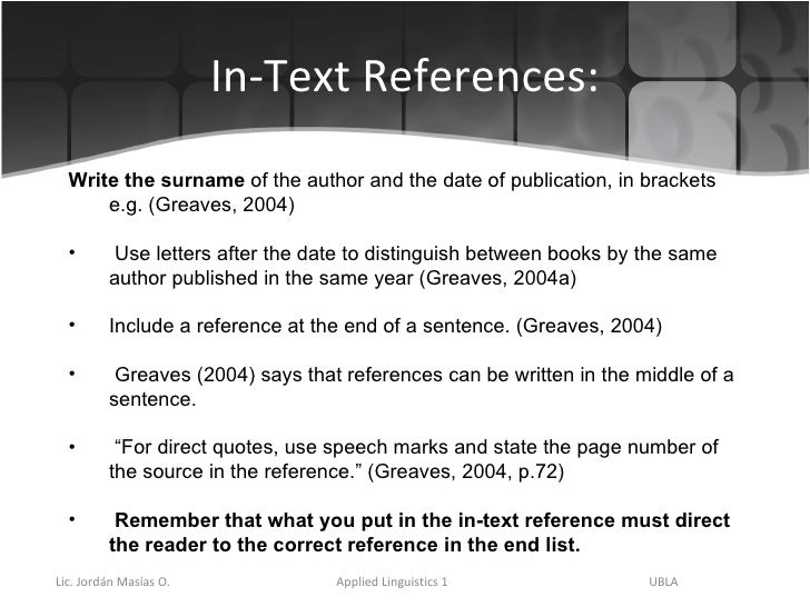 how do use references in a essay Essay structure and citation guidelines once the essay is in draft form  if citing two or more sources, use a semi-colon to.