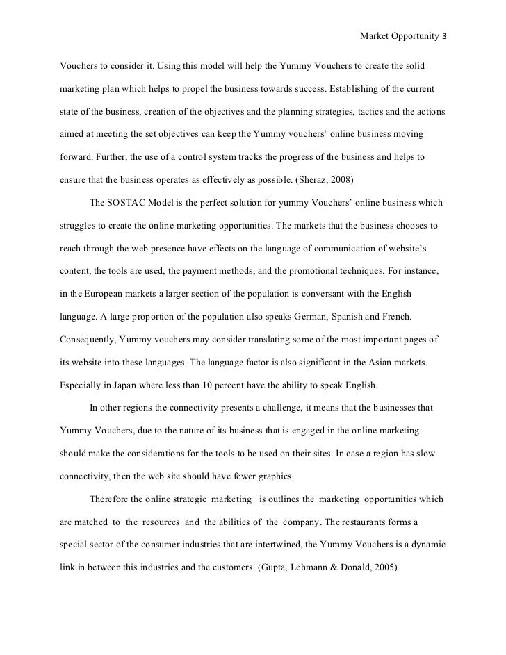 global research paper content chapter 1