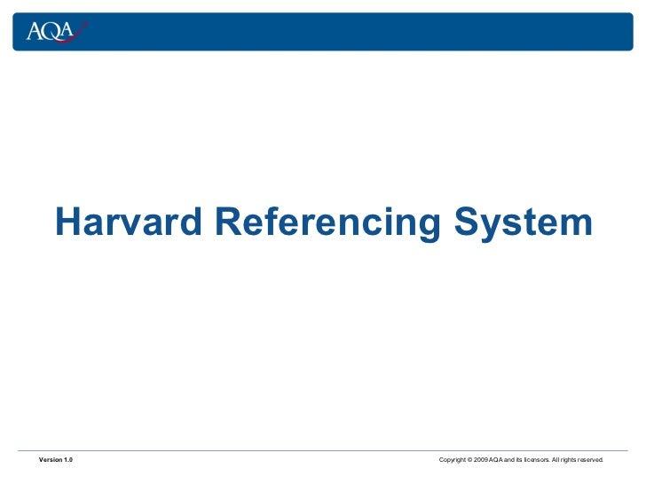 Harvard system power pointfinal