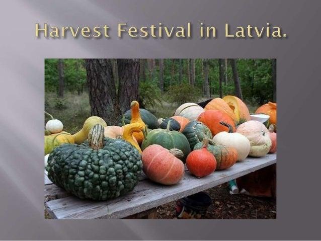 Harvest festival in Latvia