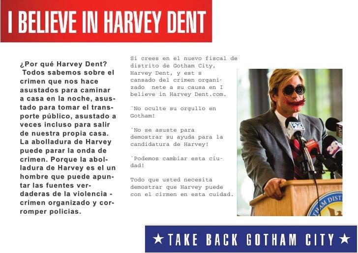 ¿Por qué Harvey Dent?                              Si crees en el nuevo fiscal de   Todos sabemos sobre el                ...
