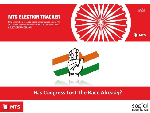 Has Congress Lost The Race Already?