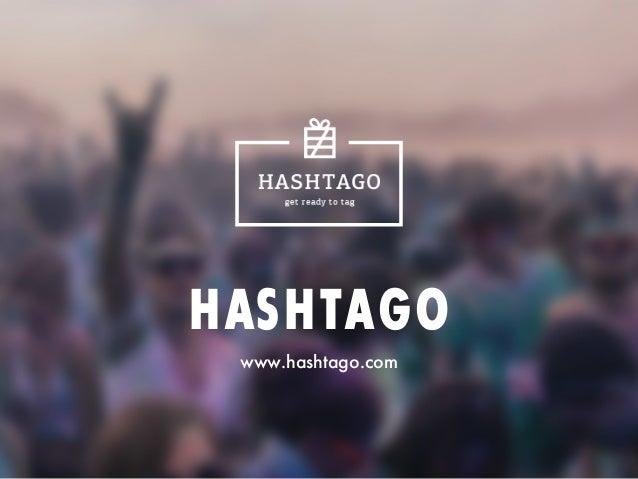 HASHTAGO www.hashtago.com
