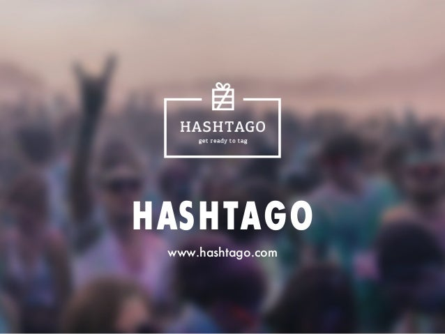 Hashtago Startup Presentation
