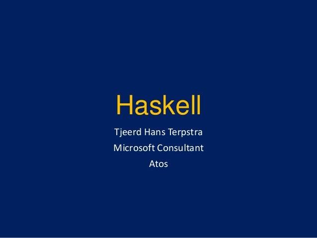 Haskell @ HAN Arnhem 2013-2014
