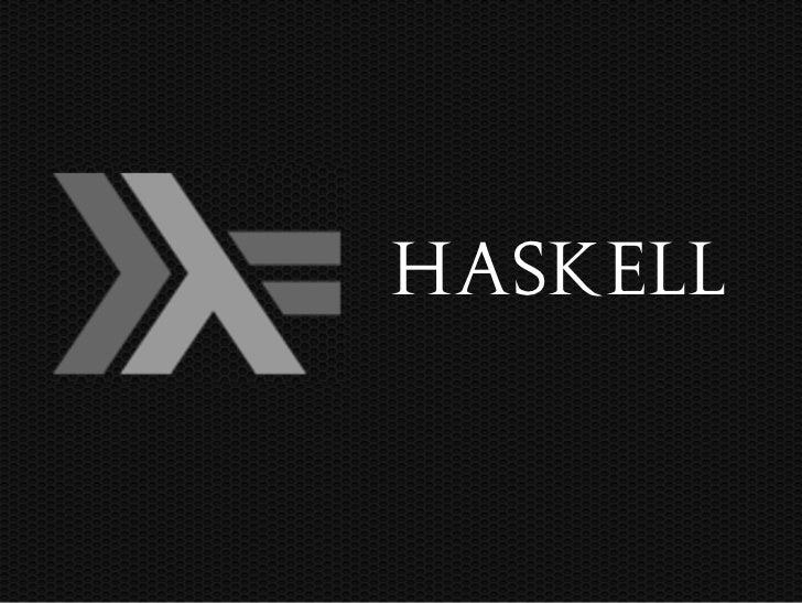 Haskell lightning-talk