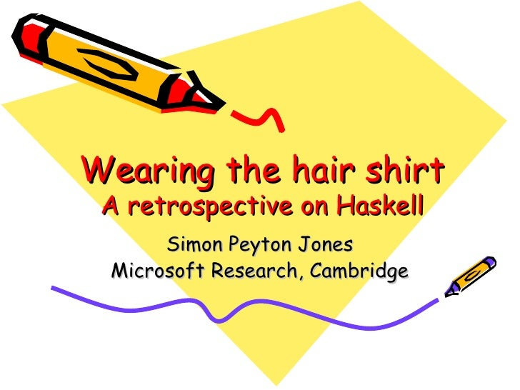 Haskell retrospective