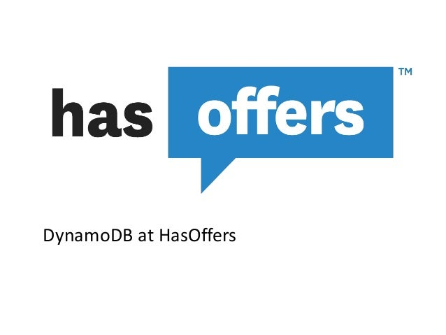 DynamoDB at HasOffers